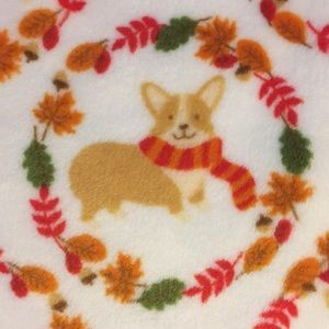 Corgi blanket